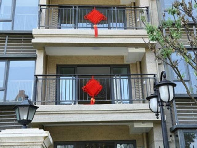 兴国锌钢阳台护栏