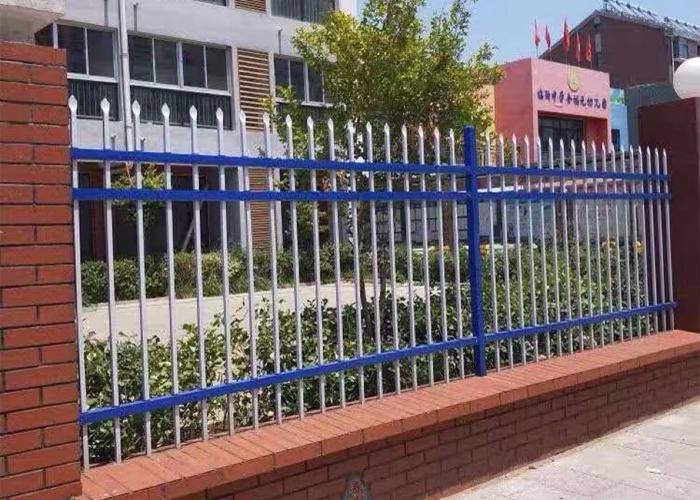 兴国学校幼儿园锌钢围栏护栏工程案例